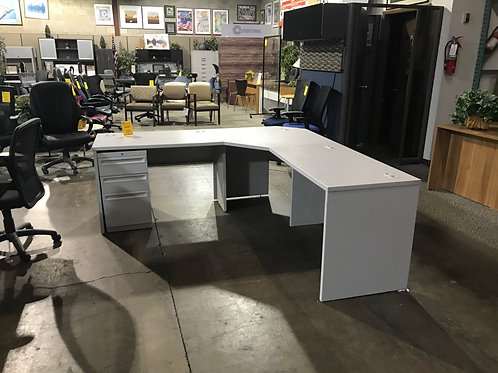 Pre-owned Hon L-Desk