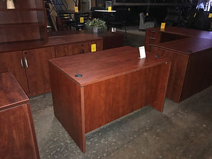 Pre-owned 48x30 Office Source Desk Shell