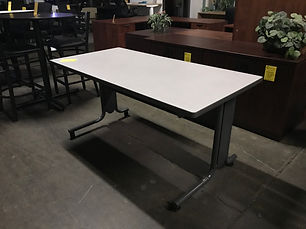 Pre-owned Hon Table w/ Casters