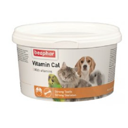 BEAPHAR vitamin Cal - préparation vitamines et minéraux 250 gr
