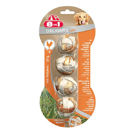 8 in 1 Delights Balls Poulet S