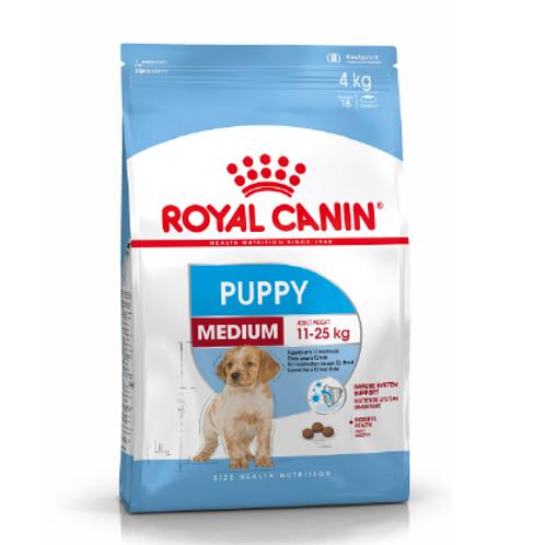 Royal Canin Medium Puppy 4&15kg