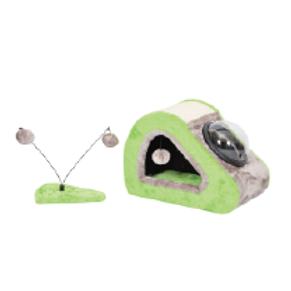 Felican arbre à chat BUBBLE HOME Vert + jouet