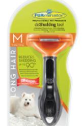 Furminator deShedding pour chiens de taille moyenne à poils longs