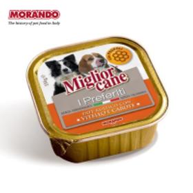 Miglior Cane I PREFERITI veau/carote 150 gr