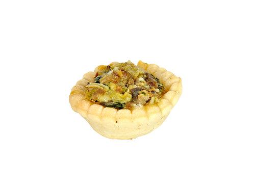 Tartelette aux champignons