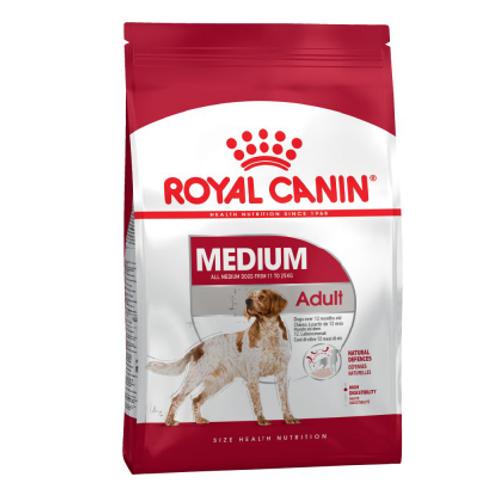 Royal Canin Medium Adult 4&15kg