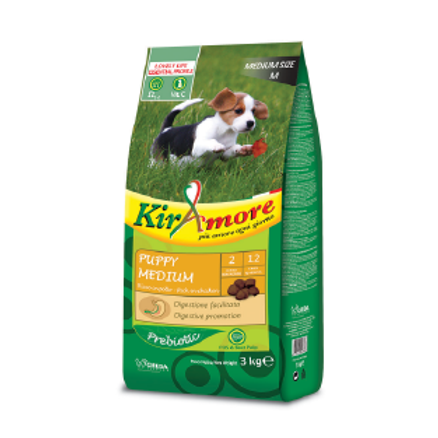 KIRAMORE Puppy Medium 3kg