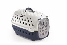 Stefanplast Chic cage de transport Gris/Bleu
