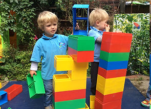 St Anthony's Pre-School Hove Outside Summer Play