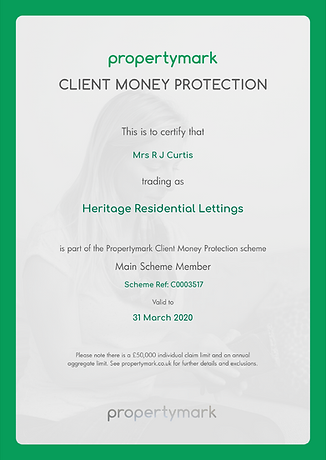 Client Money Protection - Certificate (E