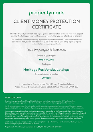 Client Money Protection - Security Certi