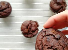 Chocolade muffins (geheim ingrediënt)