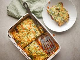 Pompoen lasagne