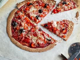 Gezonde pizza !
