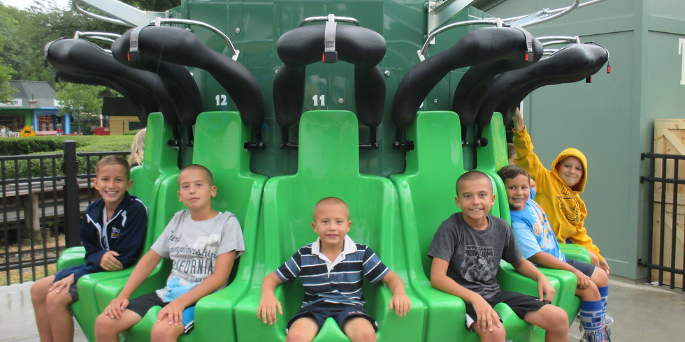 Theme Park Excursion for Kid's Ministry