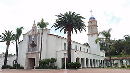 St. Therese Parish - Catholic Church in San Diego - Front view