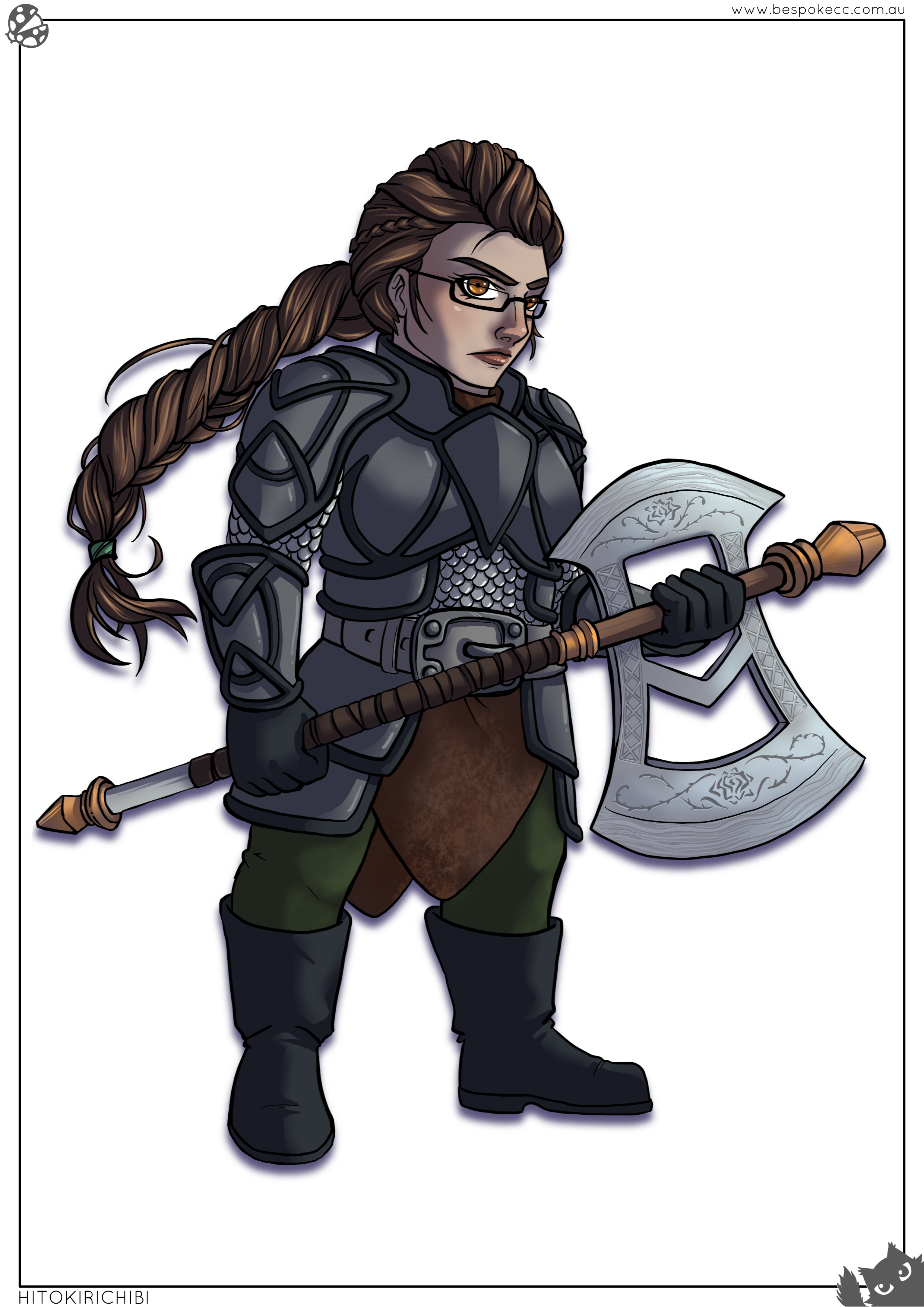 Dwarf Cleric of the Forge