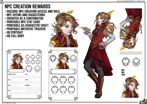 Tier Reward - NPC Creation