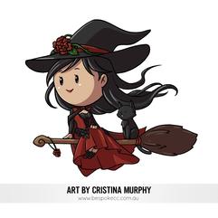 Mini Chibi - Witch Annika