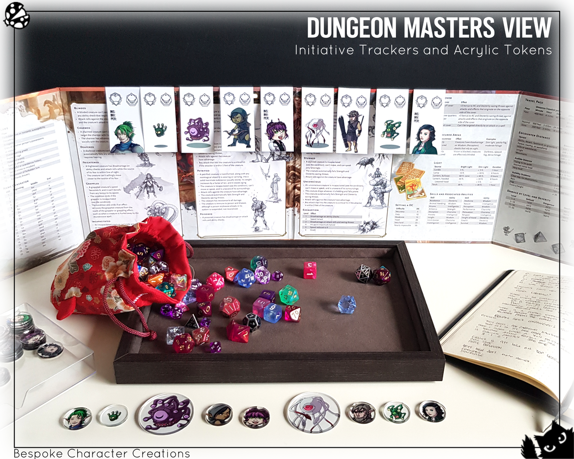 Etsy Product Photo - Dungeon Masters Vie