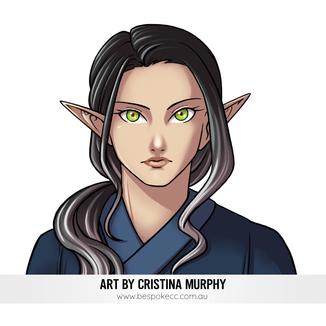 Anime Portrait - Thena