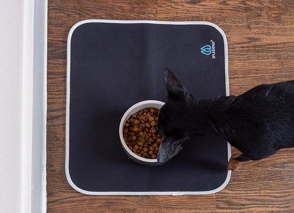 SPLASHPAD® Pet Food Mat - Black