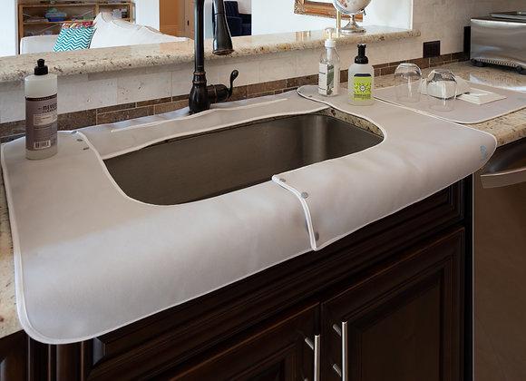 SPLASHPAD® Kitchen Sink Splash Guard - Gray