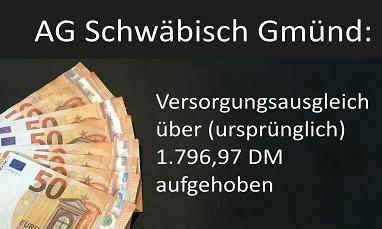 Symbolbild Aufhebung VA AG Schwäbisch Gmünd