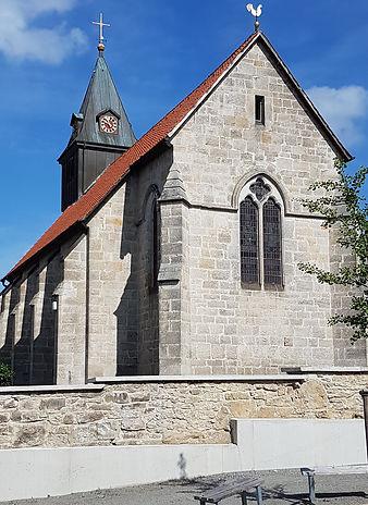 Nieste, evangelische Kirche