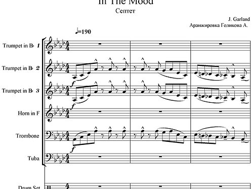 In The Mood - J. Garland