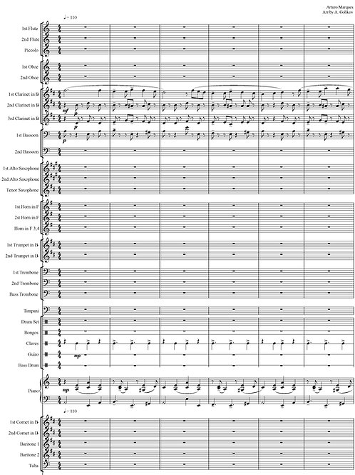 А. Маркес - Танец №2 (Danzon No.2)
