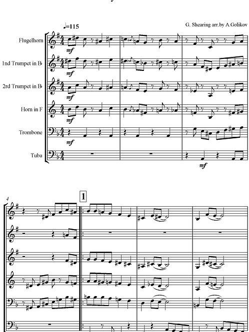 Lullaby Of Birdland - G. Shearing