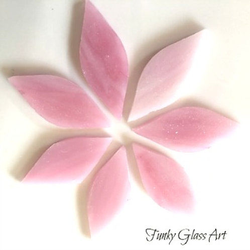 Stained Glass Small Petals -Sugar Plum