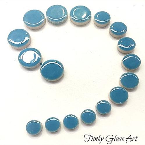 Ceramic Disc - Thalo Blue