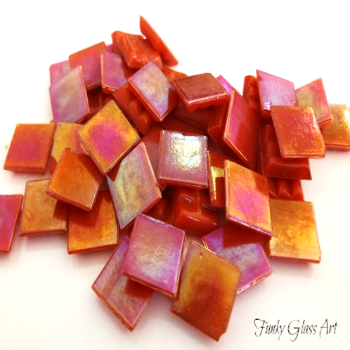 Iridescent Tangerine 15x15