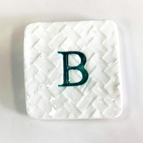Ceramic LetterB