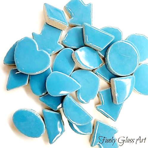 Large Charms 20mm - Thalo Blue