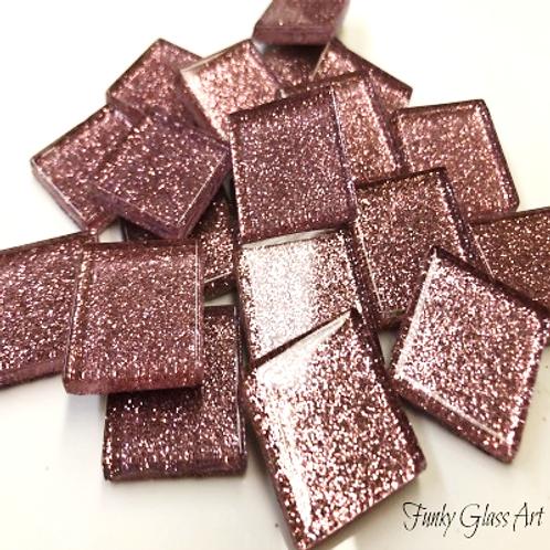 Glitter 23x23 Light Pink