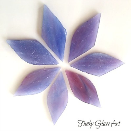 Stained Glass Small Petals -Very Berry