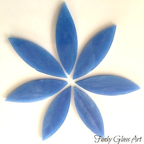 Stained Glass Large Petals -Dream Blue