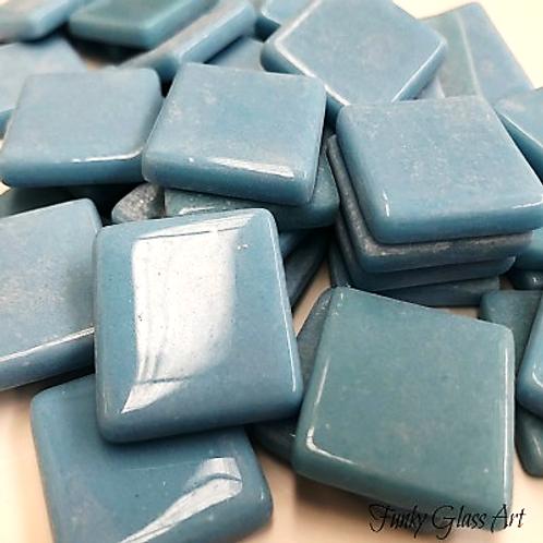 Glass Squares 23x23 - Blue