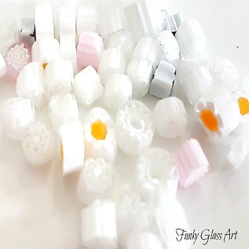 Millefiori - White Mix
