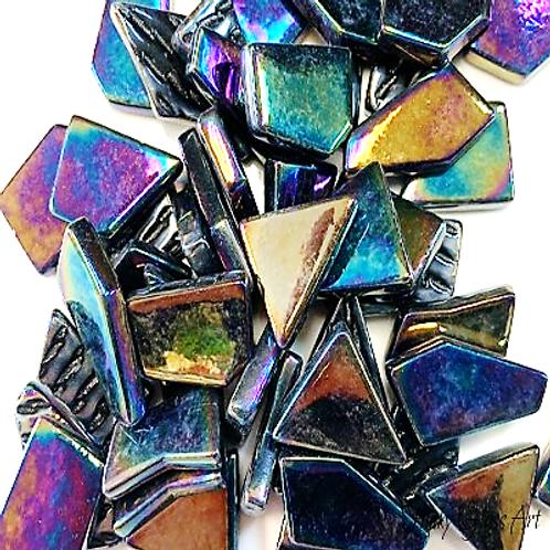 Snippets - Iridised Opal Black