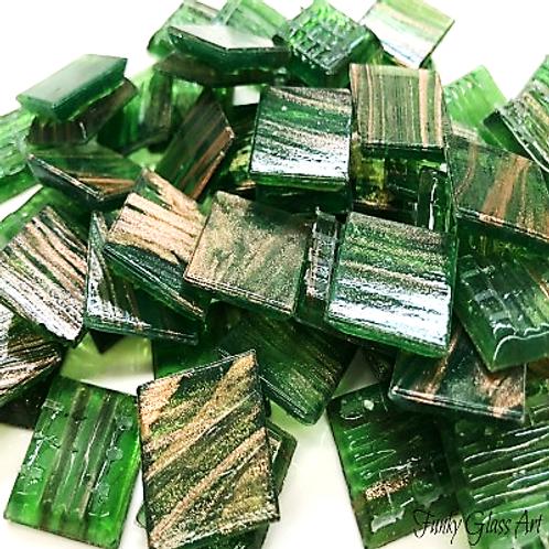 GoldlinkTiles - Green - 20x20x4mm