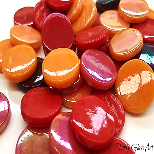 Penny Rounds 18mm - Tequila Sunrise Mix