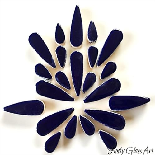 Ceramic Teardrops - Indigo Blue 100gms