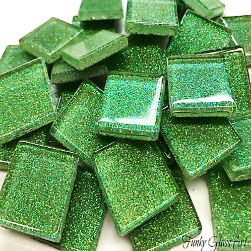 Glitter 23x23 Lime