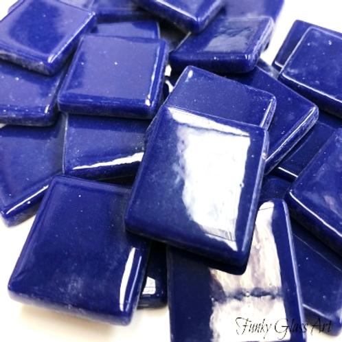Glass Squares 23x23 - Royal Blue