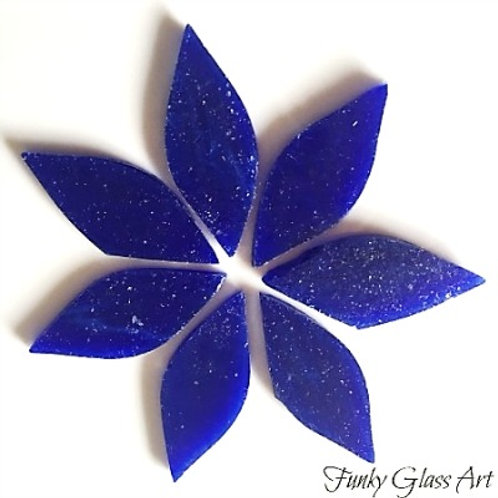 Stained Glass Small Petals -Lapis